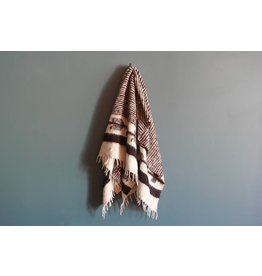 Guatemalan Wool Blanket, fringed edge