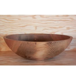 Dark Walnut Bowl 17""