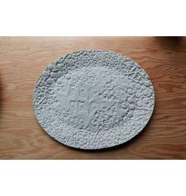 Large Luna Stamped Platter