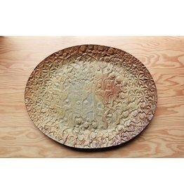 Large QO/DV Stamped Platter