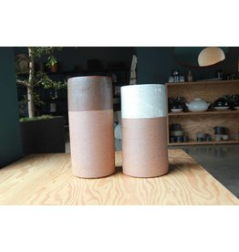 Tall Moss Vase