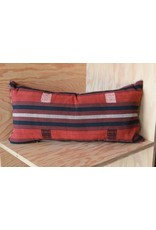 Rust, Black, Medium Myanmar Pillow