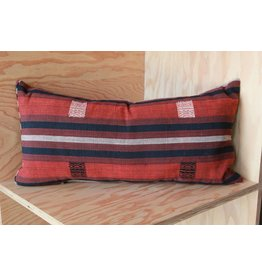 Rust, Black, med lumbar pillow