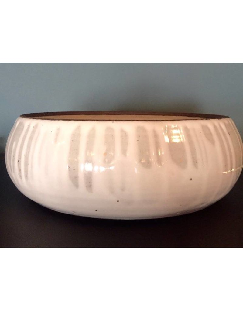 White Glaze Ceramic Bowl