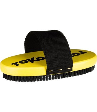 Toko Base Oval Horsehair Brush