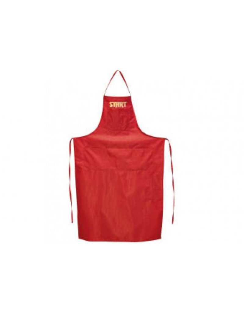 Start waxing apron