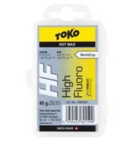 Toko HF Hot Wax YELLOW 10C/-4C (40G)