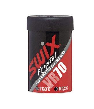 Swix VR70  Fluorinated Kick/Grip Wax 0C/+2C  45G 