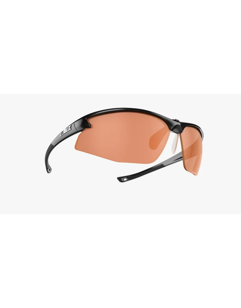 Bliz Motion Sunglasses -  Black Frame, Orange Lens