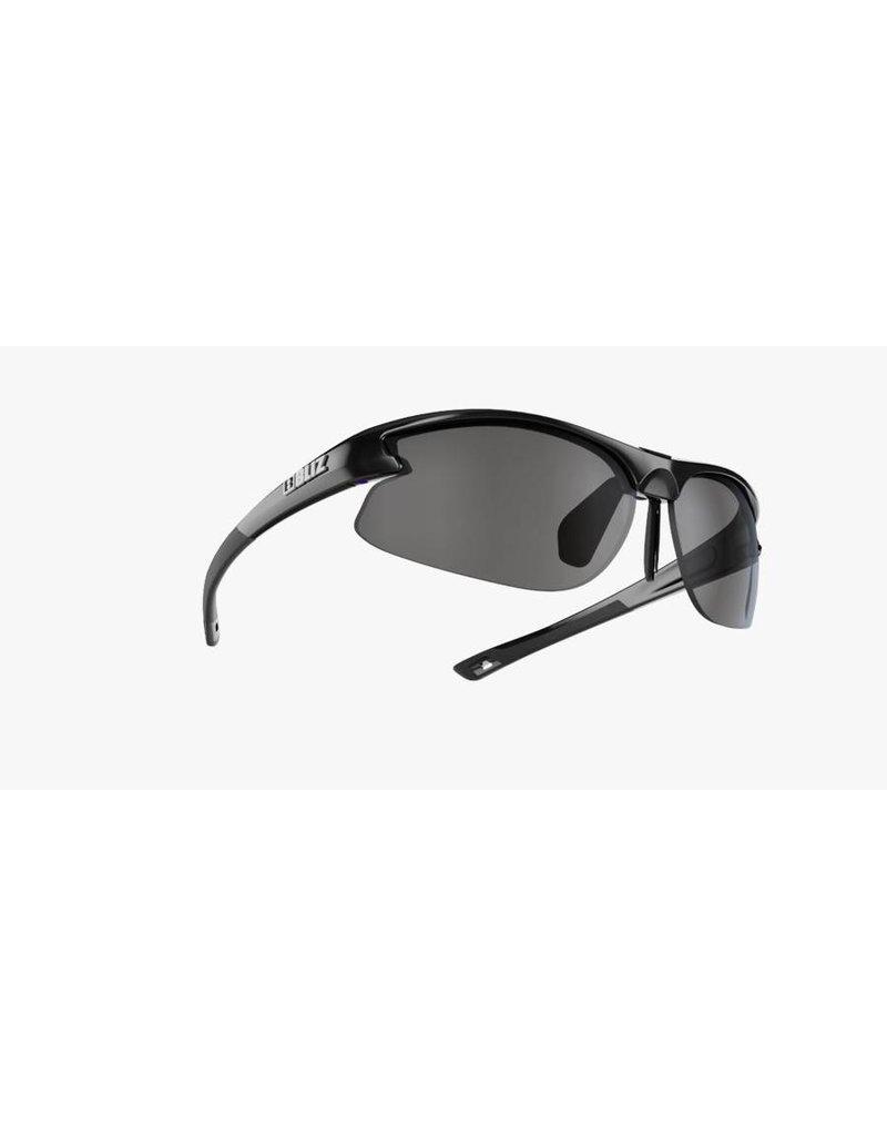 Bliz Motion Sunglasses (SMALL FACE) - Black Frame, Smoke Lens