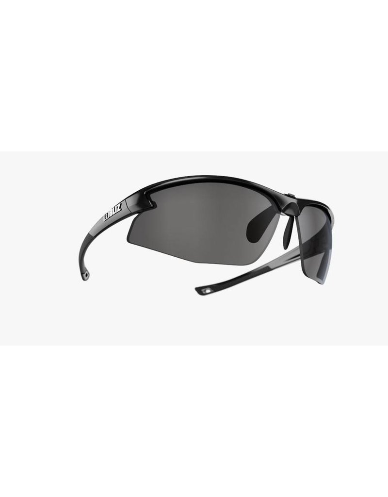 Bliz Motion+ Sunglasses - Black Frame, Smoke Lens