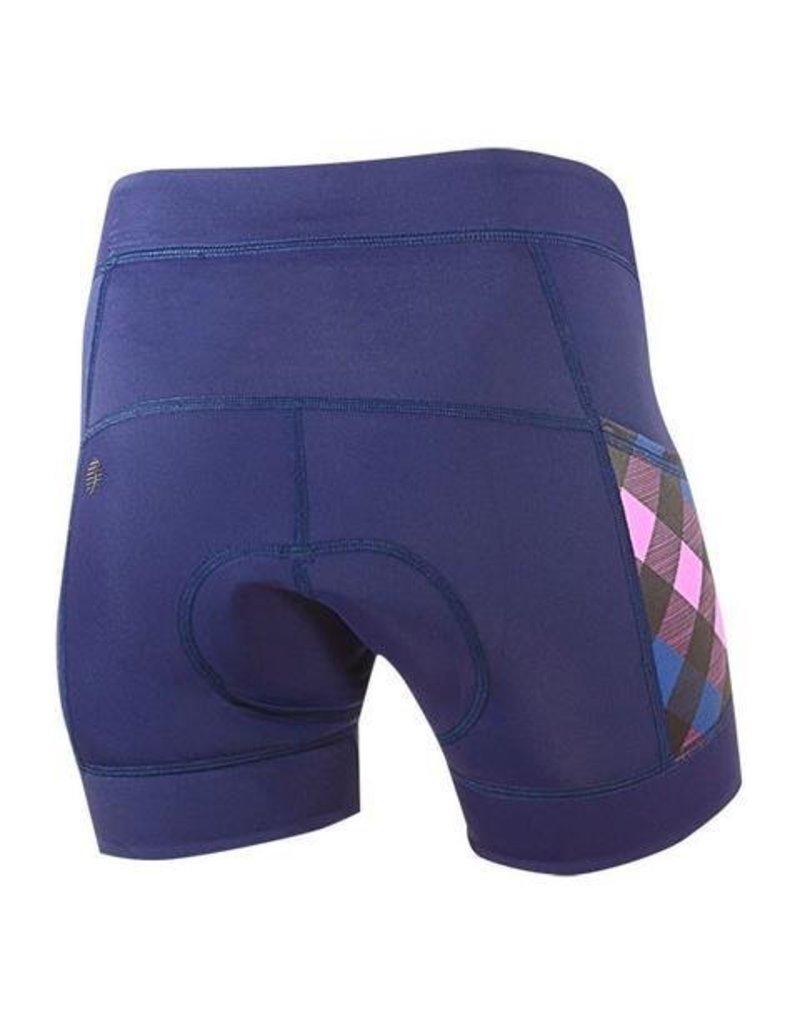 SheBeest Spandex Shorts: Azalea,  Deep Dive  L 