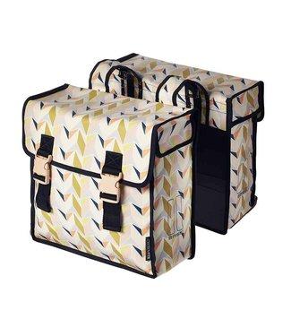 Basil Triangle Double Pannier Bag