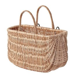 Basil - Swing basket, Varnished Natural