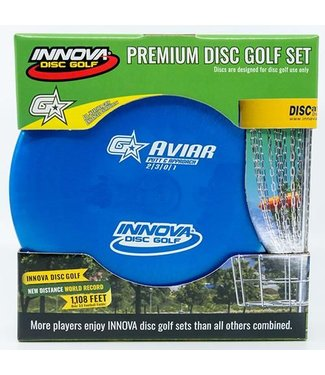 Innova 3 Pack G Star Disc Golf Set