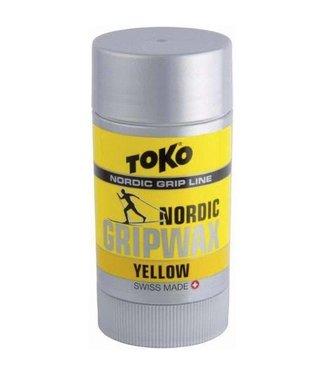 Toko NORDIC GRIP WAX YELLOW (2017)  25g 