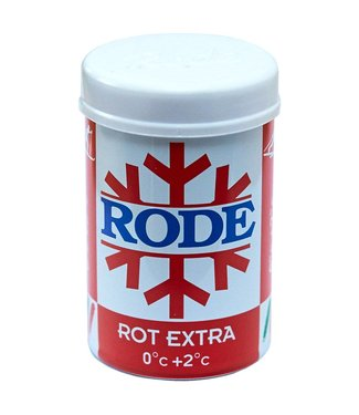 Rode Rot Extra Kick/Grip Wax 0C°/+2C° |50g|