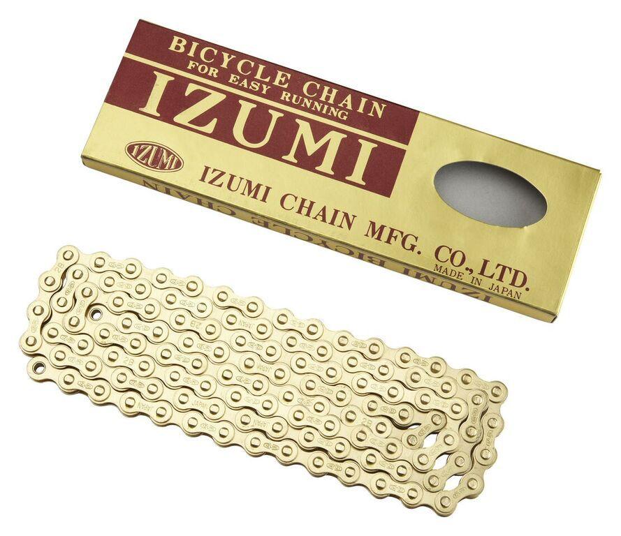 IZUMI IZUMI CHAIN 1/2 X 1/8 STANDARD GOLD 116L