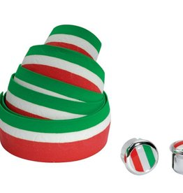 Cinelli BAR TAPE ITALIAN FLAG RED/WHITE/GREEN
