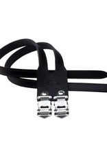 Cinelli CINELLI TOE STRAP DOUBLE LEATHER