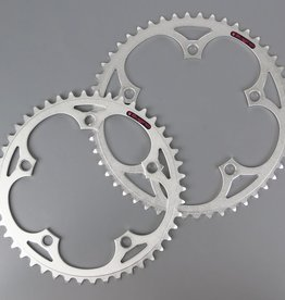 SUGINO SUGINO CHAINRING SINGLE 130J TRACK SILVER 130mm 1/8x48T