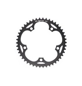 SUGINO SUGINO CHAINRING SINGLE 130J TRACK BLACK 130mm  1/8x