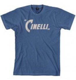 Cinelli T-SHIRT CINELLI, PENNANT INDIGO