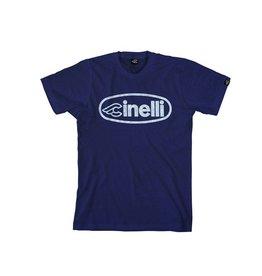 Cinelli T-SHIRT CINELLI AIR RIBBON FRENCH NAVY
