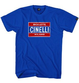 Cinelli T SHIRT CINELLI, TARGA BLUE, S