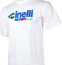 Cinelli T-SHIRT CINELLI, VIGORELLI WHITE