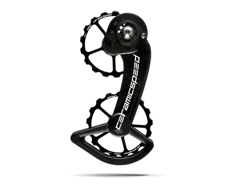 Ceramic speed OSPW SRAM (MEC) 10+11S BLK, NON COATED