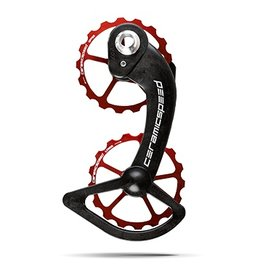 Ceramic speed OSPW SHIMANO 10+11S RED, NON COATED