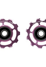 Ceramic speed PULLEY WHEELS SHIMANO 11S PINK COATED