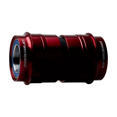 Ceramic speed PF30 OSBB SHIMANO RED NON COATED