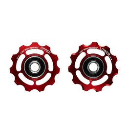 Ceramic speed GALETS 9-10 VITESSES SHIMANO ROUGE NON COATED