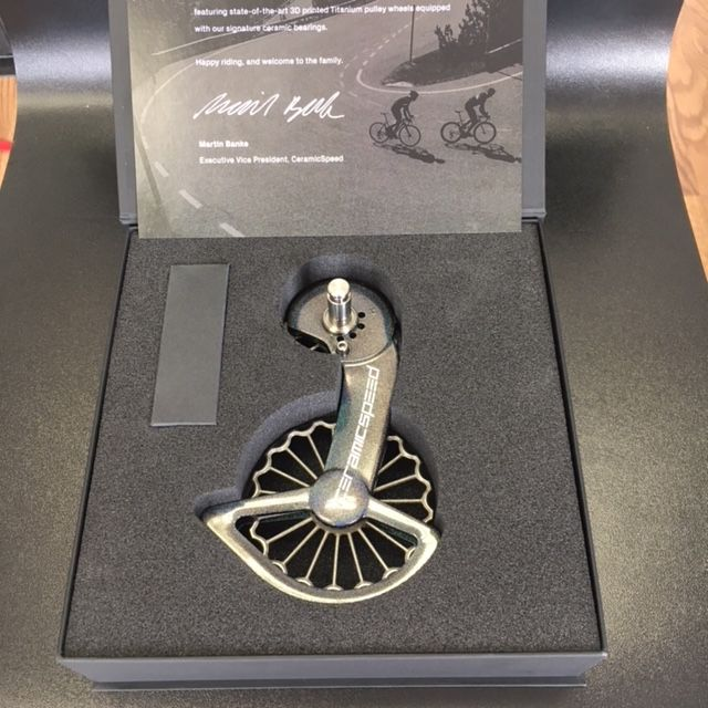 Ceramic speed CERAMICSPEED OSPW SHIMANO 9100 EDITION PART OF THE VICTORY