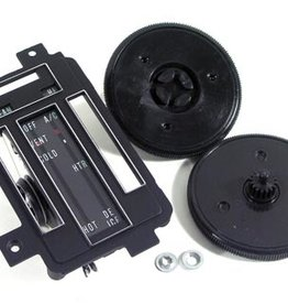 Heating\AC 1968 Heater Control Kit W/Faceplate