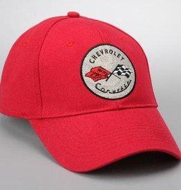 Apparel C1 Cap Red W/Logo