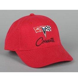 Apparel C2 Cap Red W/Logo
