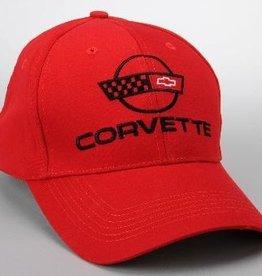 Apparel C4 Cap Red W/Logo