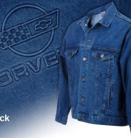 Apparel C4 Denim Jacket XXXXL-Blue