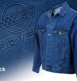 Apparel C4 Denim Jacket Blue Medium