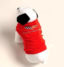 Apparel C6 Doggie Tank Top Red-X/Large