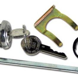Body 1953-58 Trunk Lock W/Rod