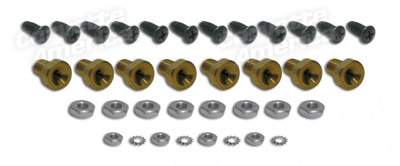 Body 1970-82 Rocker Panel Repair Kit with Screws