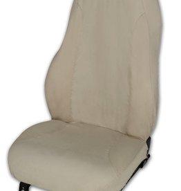 Interior 1997-2004 Seat Protectors with Logo Tan
