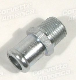 Heating\AC 1956-62 Heater Hose Fitting on Intake 3/8""