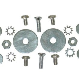 Body 1963-67 Softtop Latch on Decklid Screw Set