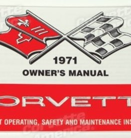 Books\Manuals 1971 Owners Manual