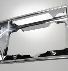 Body 1968-73 Rear License Plate Bezel Chrome